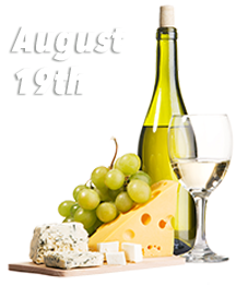Wine and Cheese Train August 19th