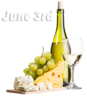 Wine and Cheese Train June 3rd