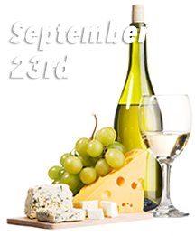Wine and Cheese Train September 23